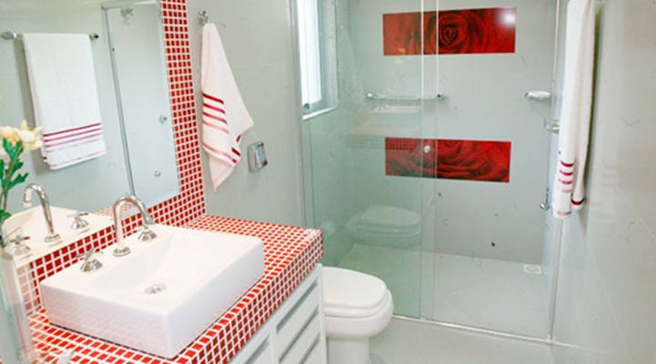Quanto custa colocar pastilha no banheiro por m2