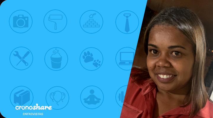 Profissionais em Destaque Cronoshare: Daiana Cristina – Diarista