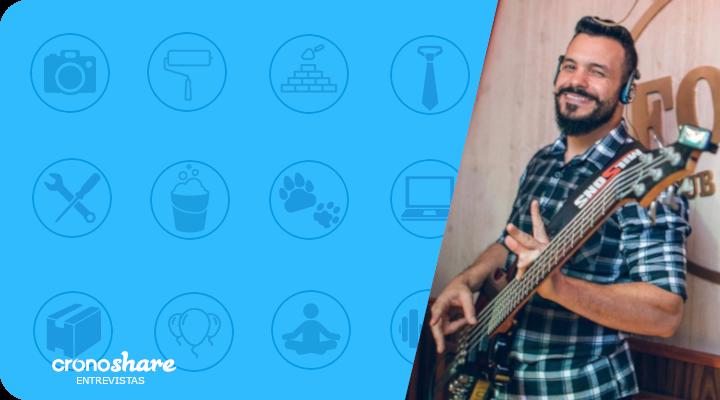 Profissionais em Destaque Cronoshare: Dirceu Alves – Professor de Música