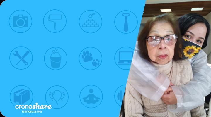 Profissionais em Destaque Cronoshare: Maria Wuintt – Cuidadora de Idosos
